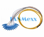 Bundle fan-out pigtail (distribution fiber opticcable)