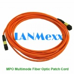 MPO Multimode Singlemode Fiber Optic Patch Cord