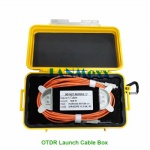 Sc/LC/FC/St/Mu/E2000 PC/Upc/APC Singlemode Multimode OTDR Launch Cable Box
